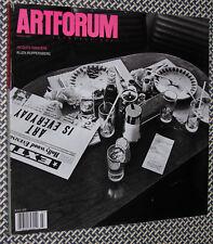 ARTForum Magazine, JACQUES RANCIERE, ALLEN RUPPERSBERG, PAUL CHAN, K. ANGER