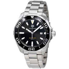 Tag Heuer Aquaracer 300M Quartz Black Dial Men's Watch WAY101A.BA0746