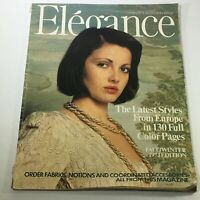 VTG Elegance Magazine: Fall-Winter 1973 Edition - Latest Styles From Europe