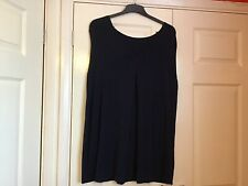 YOURS LADIES TOP SIZE 22/24 NAVY