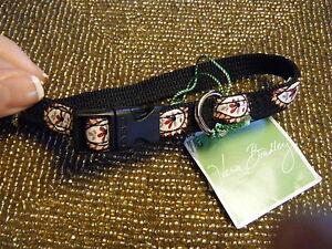 VERA BRADLEY Pet Collar (XS-Small) CLASSIC BLACK Dog Rare & Retired, New