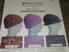 Heather's Chemo Caps Hat  Knitting Pattern by Keep it Simple #1/2
