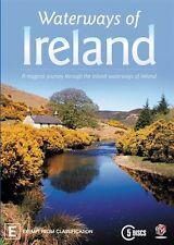 WATERWAYS OF IRELAND (DVD, R4, 5-Disc Set, Free Postage)