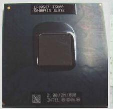 Intel Core2 DUO T5800 2.0Ghz 2MB 667 SLB6E Socket P CPU LF80537GG041F