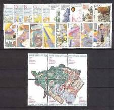 Vaticano 1986 annata completa (24 valori) MNH