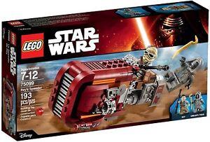 LEGO STAR WARS 75099 - REY'S SPEEDER - SIGILLATO MISB