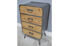 industrial chest  4 drawer tallboy cabinet chest