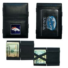 NFL Denver Broncos Leather Jacobs Wallet-FREE SHIPPING