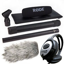 Rode ntg3b richtrohr microphone, noir + Deadcat pare-vent + keepdrum Casque