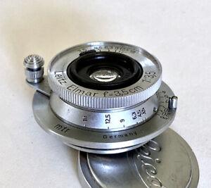 Leica 35mm Elmar f3.5 #557897 Chrome