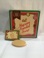 Mysore Sandal Handwash Travelling Soap 17gm- Sandalwood Oil soap (Pack of 30)
