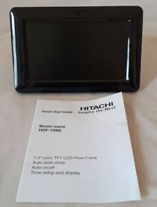 "HITACHI HDF-7086 7"" COLOUR LCD PHOTO FRAME"