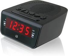 New ListingElectric Digital Dual Alarm Clock Radio Am/Fm Led Large Display Battery Backup