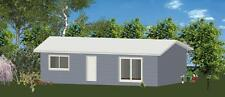 2 Bedroom DIY Granny Flat Kit - The Sapphire on Gal Chassis - FC Weatherboard