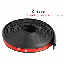 4M Z-type Car rubber door Waterproof sealing strip weatherstrip edge trim New