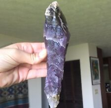XL AURALITE 23 CRYSTAL WAND! AMETHYST QUARTZ WAND AJOITE CACOXENITE SUPER SEVEN