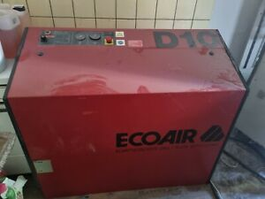 Ecoair D10 Schraubenkompressor Kompressor Sandstrahl Sandstrahlen lackieren