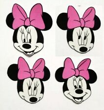 Disney Minnie Mouse Fabric Iron On Appliques style #2 pink dress