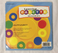 Alphabet Learning Palette Cards: 12 Cards