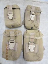 USMC COYOTE TAN TRIJICON ACOG TA86 PADDED POUCH CASE NSN USED FUNCTIONAL