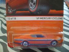 HOT WHEELS 69 MERCURY CYCLONE