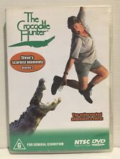 THE CROCODILE HUNTER ~ STEVE'S SCARIEST MOMENTS ~ VOLUME 2 ~ NTSC REGION 0 DVD