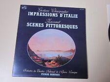 GUSTAVE CHARPENTIER . IMPRESSION D'ITALIE ..MASSENET  SCENES PITTORESQUES