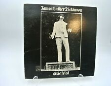 James Luther Dickinson Dixie Fried 1972 Vinyl Atlantic SD 8299 Stereo