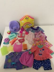 Baby Alive Doll Accessories Lot Clothes Potty Toothbrush Spoon Brush Drink