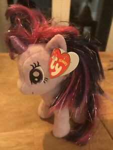 Ty Sparkle My Little Pony Twilight Sparkle Beanie With Tag 16 Inch