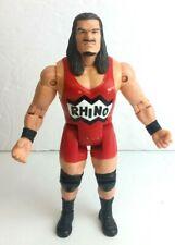 ECW OSFTM Wrestling USED Rhino Rhyno Figure WWE Toy Makers TNA WCW OSFT