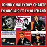 CD Johnny Hallyday chante en anglais et en allemand