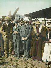 "Lawrence of Arabia Herbert Samuel Emir Abdullah of Jordan Amman 1921 7x5"" Photo"