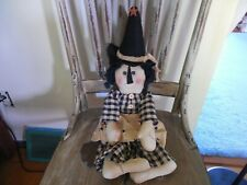 Adorable Cloth Witch Doll
