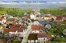 AK Lutterbach 1918 mülhauser strada runzstraße lunga strada/Mulhouse Sennheim