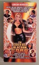 lorena herrera   LA CHICA DEL ALACRAN DE ORO   VHS VIDEOTAPE