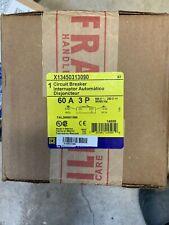 Square D FA 60A Circuit Breaker  X13450313090 FAL360601586 New In Box