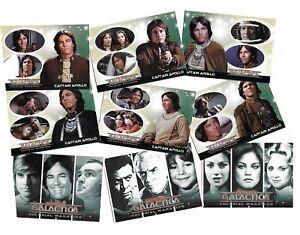 Battlestar Galactica Colonial Warriors - 72 Card Basic/Base Set Rittenhouse 2006