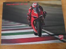 Ducati Panigale V4 Motorcycle Sales Brochure 2018