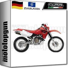 GPR AUSPUFF ABE TRIOVAL HONDA XR 650 R 2005 05 2006 06 2007 07 2008 08