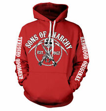 Officially Licensed Sons Of Anarchy Chain Logo Hoodie S-XXL Sizes