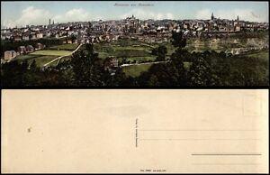 Panorama von REMSCHEID - TOP Panorama-AK  27,6 x 8,7 cm, ungeknickt! um 1910