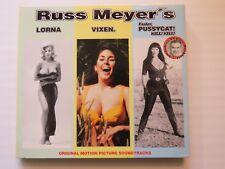 """RUSS MEYER'S VOL 1 COLONNE SONORE """" Lorna ,"""" """" Vixen ,"""" """" Faster"""