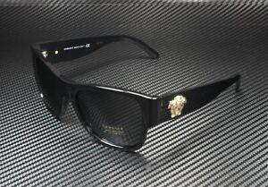 VERSACE VE4275 GB1 87 Black Grey 58 mm Men's Sunglasses