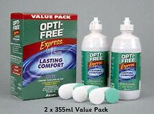 Alcon Opti Express Gratis Pack ahorro 2 X 355ml multi propósito desinfección solución