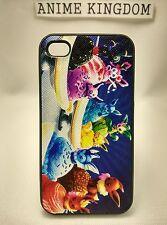 USA Seller Apple iPhone 4 & 4S Anime Phone case Pokemon Cute Eevee Ice Cream