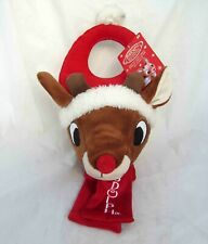 Rudolph The Red Nosed Reindeer Plush Toy Christmas Holiday Door Knob Hanger