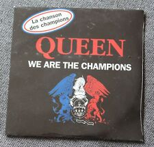 Queen, we are the champions / we will rock you, CD single edition special