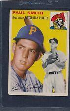 1954 Topps #011 Paul Smith Pirates Fair 54T11-121715-1