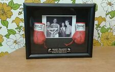Jerry Quarry Large 8 x 10 Black Boxing Display